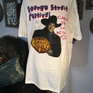 George Strait 1998 VTG Country Concert Tour T XL